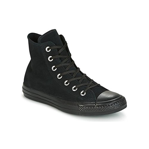Star Hi Noir Converse Cuir Black All wE4Sq5v