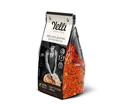 Curried Red Lentil Soup - Red Lentil Soup Mix East Indian Masoor Dal (Pack of 3)