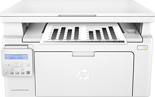 HP - LaserJet Pro MFP M130nw Wireless Black-and-White All-In-One Printer