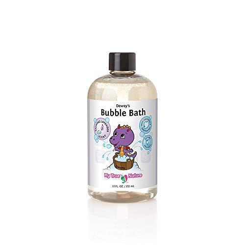 Natural Baby Bubble Bath - Deweys Bubble Bath for Sensitive Skin (Calming Lavender, 12 oz)