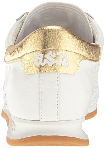 Aswomens Schorpioen Mode Sneaker Off Wit / Wit