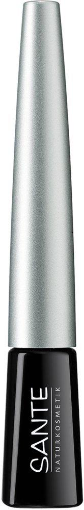 Salud - 2008eyeli03 - Maquillaje de Ojos - Eyeliner líquido No. 03 Negro - 3 ml Sante Naturkosmetik 42052