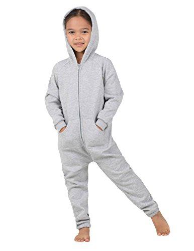 f857e7e479 Jual Joggies - - Laid-Back Gray Toddler Footless Hoodie Onesie ...