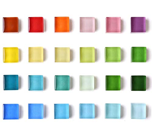 24 Color Refrigerator Magnets for Whiteboard Magnets Colored Fridge Magnets for Locker Magnets Decorative Glass Magnets for Office, ()