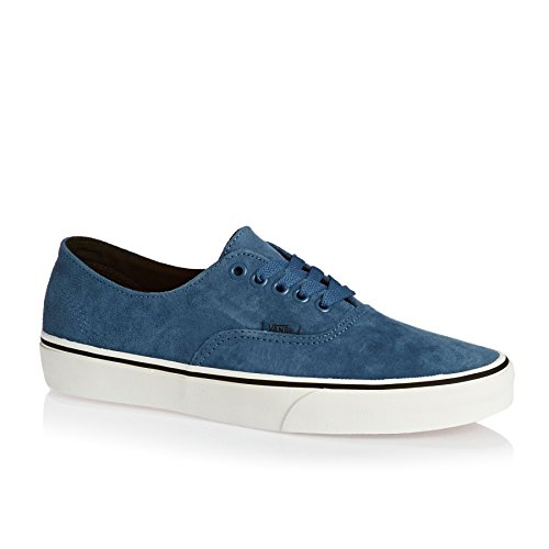 Vans Unisex Adults' Authentic Decon Low-Top Sneakers (Pig Suede) Blue Ashes/Bl