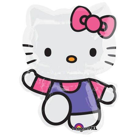 Anagram International 1680001 Hello Kitty Balloon Pack, 30