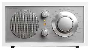 Tivoli Audio Model One AM/FM Table Radio, White/Silver