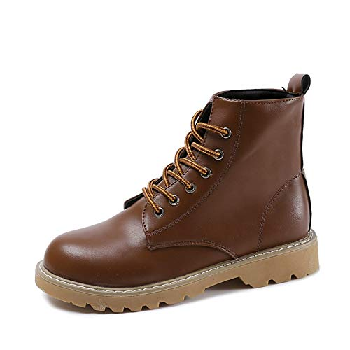 IWxez IWxez IWxez Damenmode Stiefel PU (Polyurethan) Herbst & Winter Stiefel Chunky Heel Round Toe Stiefelies Stiefeletten Schwarz Dunkelbraun a7e2ef