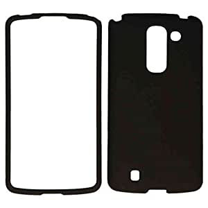 MATTE CELL PHONE COVER HARD CASE FOR LG G PRO 2 NON SLIP BLACK A008-G