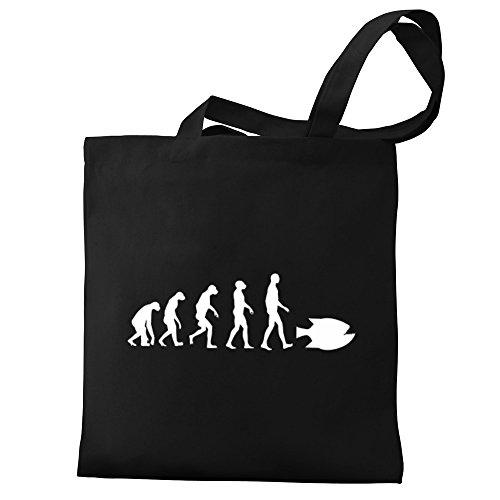 Eddany Piranha Eddany Tote evolution Bag Canvas Piranha 5EqxqZnv