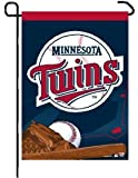 "MLB Minnesota Twins Garden Flag, 11""x15"", Team Color"