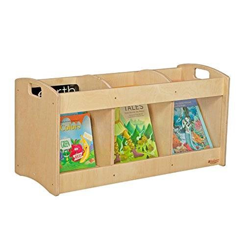 Wood Designs WD99744 See-All Toddler Book Browser, 12 x 36 x 12'' (H x W x D) by Wood Designs