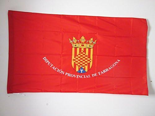 AZ FLAG Bandera de la Provincia DE TARRAGONA 90x60cm para Palo - Bandera TARRAGONA EN CATALUÑA 60 x 90 cm: Amazon.es: Jardín