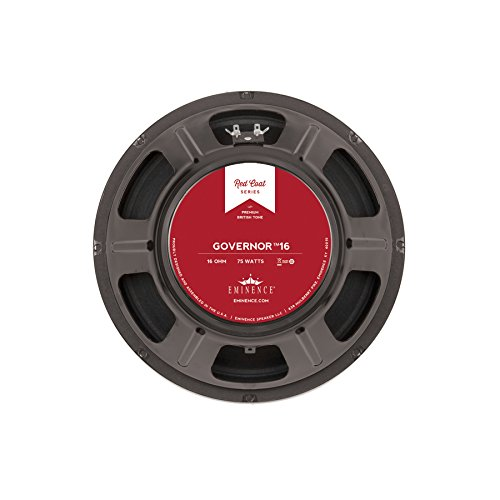 (Eminence Red Coat The Governor 12 Inch Guitar Speaker 75 Watts - (16 Ohm))