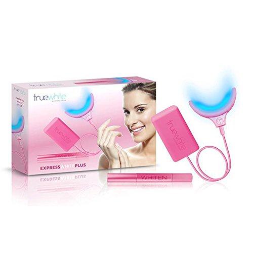 TrueWhite Advanced Luce Teeth Whitening System - Professional Diamond Bright Teeth Whitening Kit - Best LED Light Tooth Whitener - ENAMEL SAFE - Home Dental Teeth Whitener - Stain Remover (Advanced Whitening System)