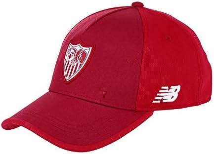 New Balance Sevilla FC Visera Élite 2017-2018, Gorra, Rojo: Amazon ...
