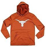 Texas Longhorns NCAA Youth Big Boys Perforated Pullover Hoodie - Burnt Orange (Large (14/16))
