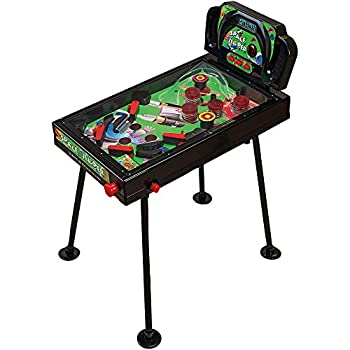 Image of Arcade & Table Games Globo Toys Globo - 37410 70 cm Family Games Flipper with Leg Lights and Sound