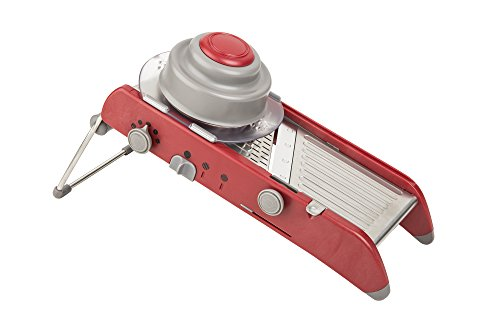 Progressive International PL8 Mandoline Slicer, Red