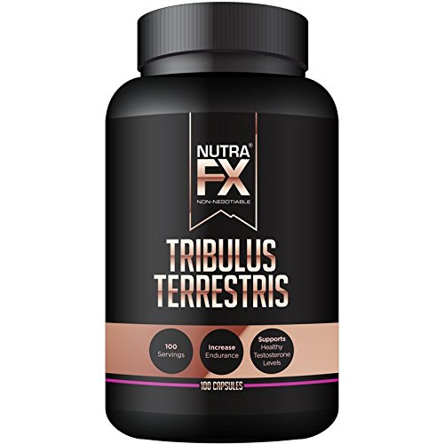 625 Mg 100 Capsules (NUTRAFX Tribulus Terrestris - All Natural Testosterone Booster - 625 mg - 100 Capsules)