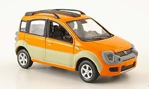 Fiat Panda Cross 4x4, anaranjado/beige, Modelo de Auto, modello completo, SpecialC.-20 1:43