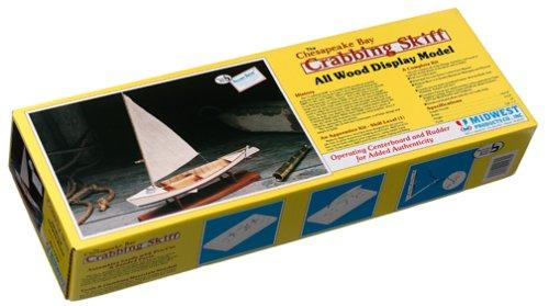 (Chesapeake Crabbing Skiff Wooden Model)
