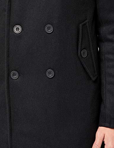 Uomo Brandit Peacoat black Manhattan Giubbotto Nero 2 pq0tBq