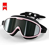 COPOZZ Kids Swimming Goggles, Child (Age 4-12) Waterproof...