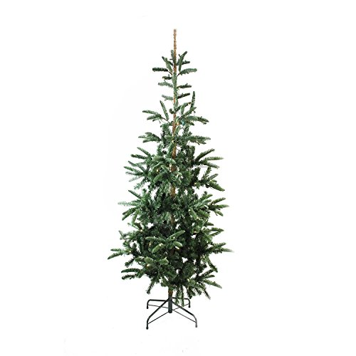 (Northlight 6.5' Pre-Lit Layered Noble Fir Artificial Christmas Tree - Warm Clear LED Lights)