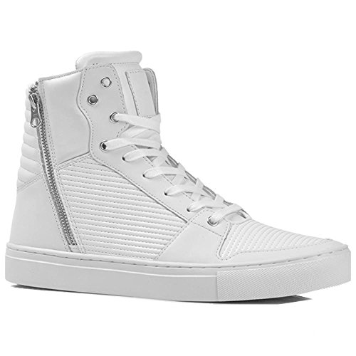 Creative Recreation Adonis Mens White Leather High Top Sneakers Shoes 10.5