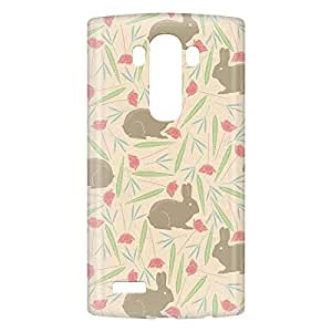 Loud Universe LG G4 Spring Rabbit Print 3D Wrap Around Case - Multi Color