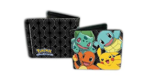 pokemon-4-characters-squirtle-bulbasaur-pikachu-charmander-bifold-leather-wallet