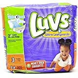 Health & Personal Care : Luvs Ultra Leakguards Diapers Size 3 - 24 Count