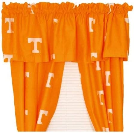 College Covers NCAA Curtain Valance, 84 x 15 , Tennessee Volunteers