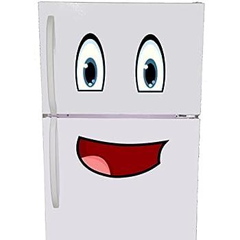 Mr. Fridge Smiley Face Refrigerator Magnet Set
