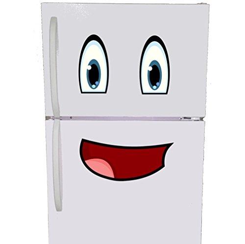Mr. Fridge Smiley Face Refrigerator Magnet (Funny Refrigerator)