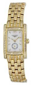 Longines Dolce Vita 18kt Gold & Diamond Womens Luxury Watch L5.155.7.87.8