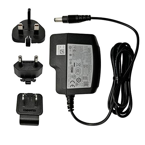Universal AC Power Supply Adapter 5V 3A 15W,100-240V, 1.5M 2.5mm, with Multi Plug for US,UK, EU, Supports Android Box MINIX NEO U1, NEO U9-H and Others.