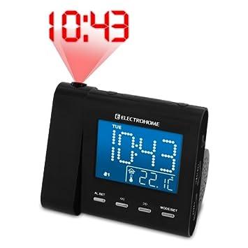 Amazon.com: Electrohome Tiempo de proyección reloj ...