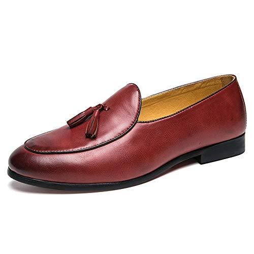 Xiazhi-shoes,, - Mocasines para Hombre Amarillo Amarillo 42 EU: Amazon.es: Hogar