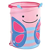 Skip Hop Zoo Pop-Up Hamper, Blossom Butterfly