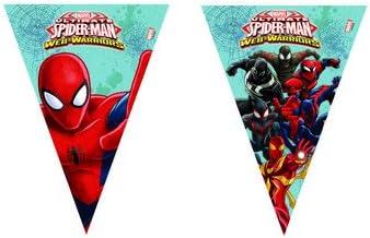 Irpot Kit N 17 Tabla DE CUMPLEA/ÑOS Web Spiderman Warriors