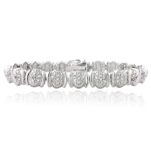 1ct ovale Link Bracelet 7,5