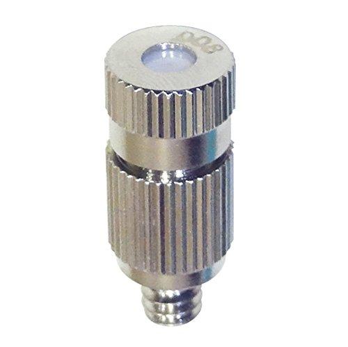 HydroMist F10-08-001 Drip-Free Misting Nozzle, 10/24 Threading, 0.008