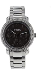 Fossil Women's ES3086 Stainless Steel Analog Brown Dial Watch