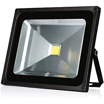 Ledmo 50w Led Flood Lights Waterproof Ip65 For Outdoor Daylight White 6000k 4000lm 250w Halogen Equivalent Security Lights Floodlight