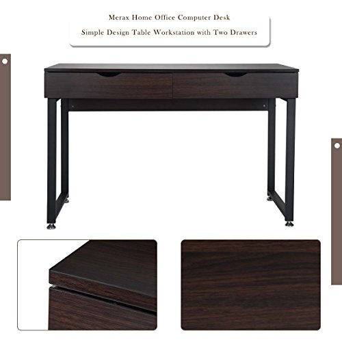 Amazoncom Merax Home Office Computer Desk Simple Design Table