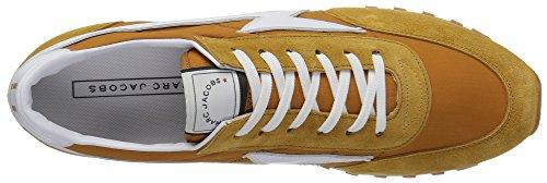 Marc Jacobs Hommes Nylon Runnerjogger Mode Sneaker Butterscotch