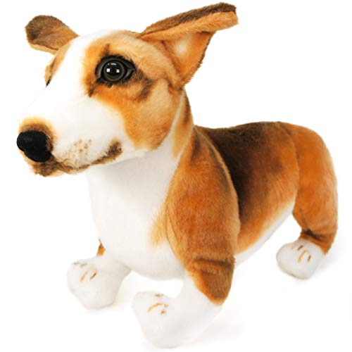 (VIAHART Caerwyn The Bent-Knee Pembroke Welsh Corgi | DISCOUNTED DUE TO SOFT UNSTEADY LEGS | 18 Inch Large Welsh Corgi Dog Stuffed Animal Plush Dog | by Tiger Tale Toys)