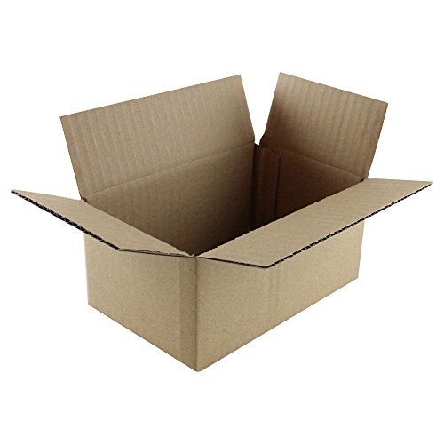 HGP 5'' x 4'' x 4'', Single, Corrugated Cardboard Shipping Mailing Moving Box by Harper Grove Productions (Image #1)